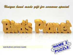 custom wooden name puzzle for kids